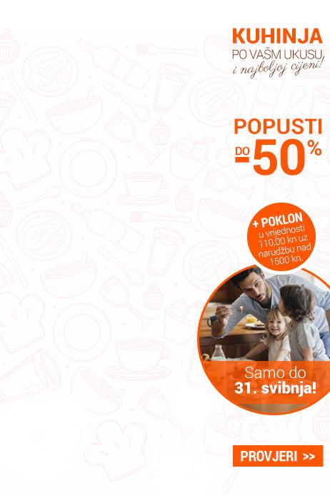 Kuhinje do -50%