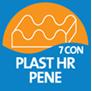 7-conska plast profilirane HR pene