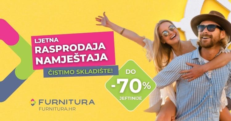 Velika ljetna rasprodaja namještaja do -70%