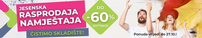 Rasprodaja namještaja do -60%