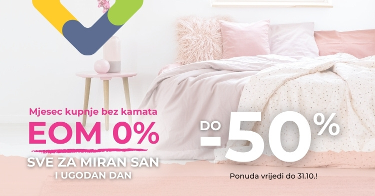 EOM0 - Spavaće do -50%