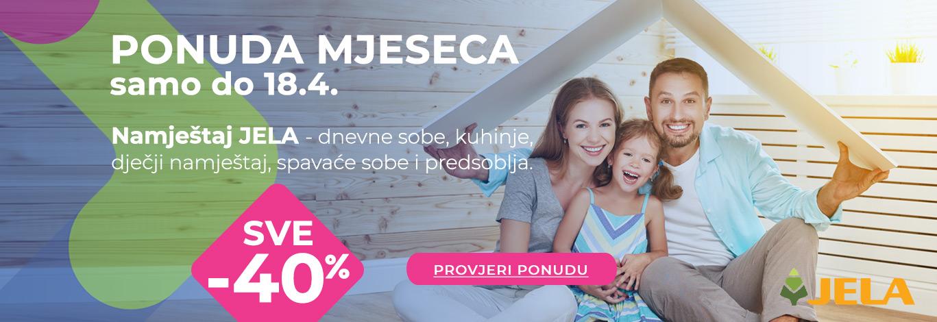 Namještaj Jela -35%