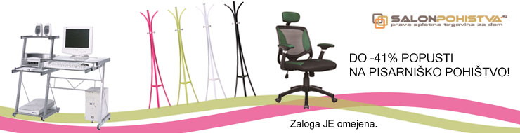 Akcija pisarniško pohištvo - maj 2012