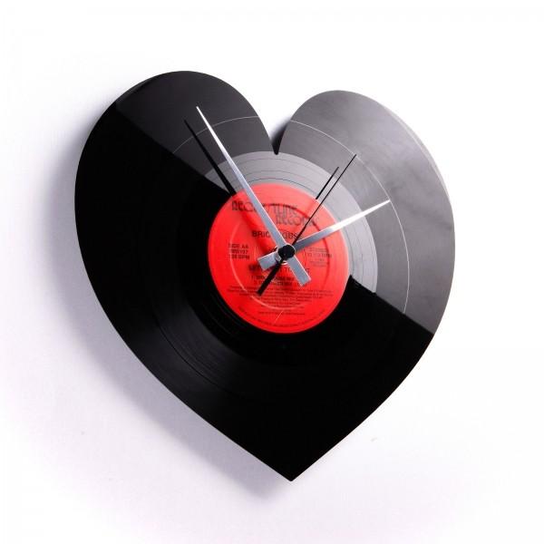 Zidni sat Disc'o'clock Heart