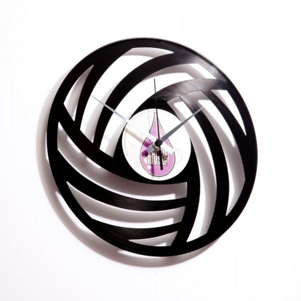 Zidni sat Disc'o'clock Pure Wool