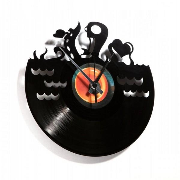 Zidni sat Disc'o'clock Underwater Love