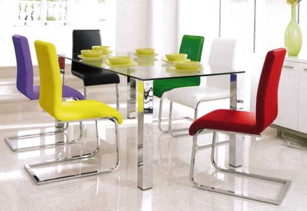 Stakleni stol Mezzi