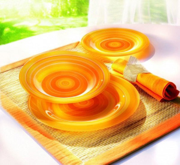 Servis za jelo Rainbow Orange (19)