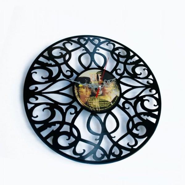 Zidni sat Disc'o'clock Deco