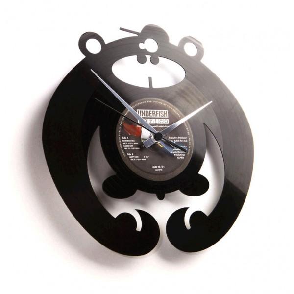 Zidni sat Disc'o'clock King of the Bongo