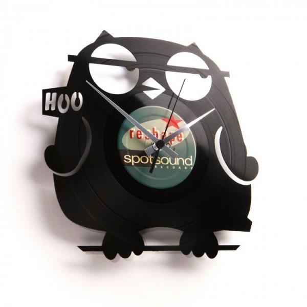 Zidni sat Disc'o'clock Wize Guy