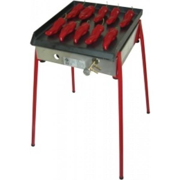 Plinski roštilj Gorenc, 40 x 40, Fe ploča, U gorionik, ventil, s nogama