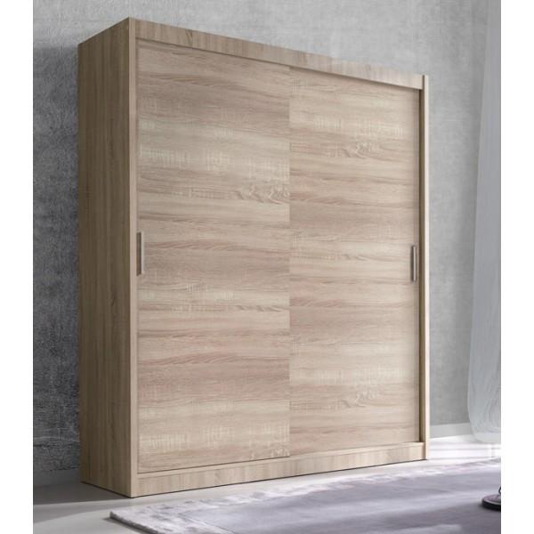 Klizni ormar ENZO (svijetla sonoma hrast) - 150 cm