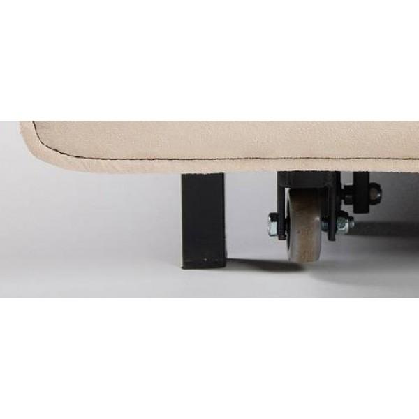 Multifunkcijska fotelja Max s ležištem - Gumeni kotači