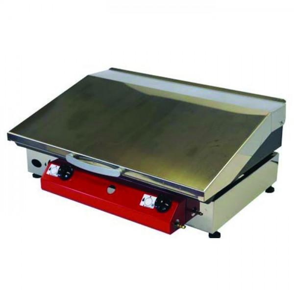 Stolni plinski roštilj Gorenc, 65 x 40, Fe ploča 5 mm, dva plamenika i poklopac