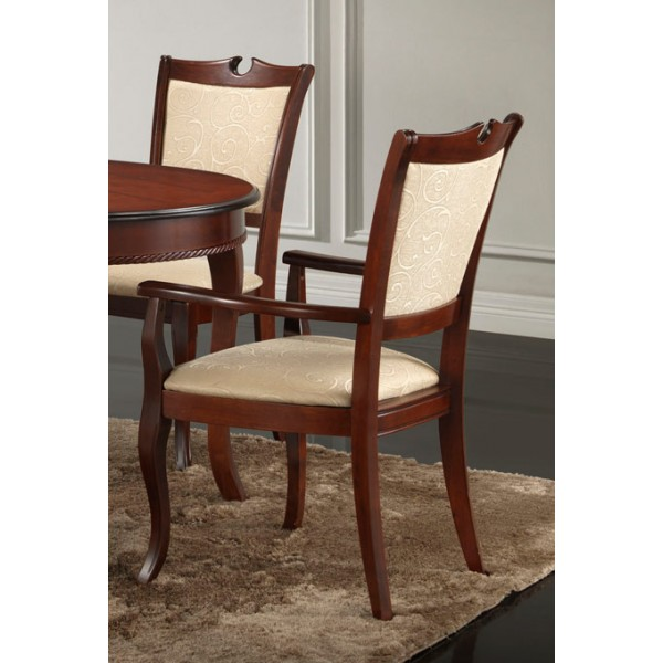 Blagovaonska stolica sa naslonom za ruke Royal