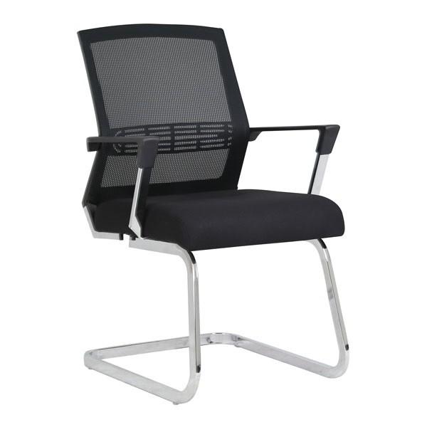 Konferencijska stolica Viktorija - crna