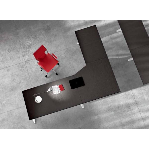 Kutni uredski stol TK01 - Tloris