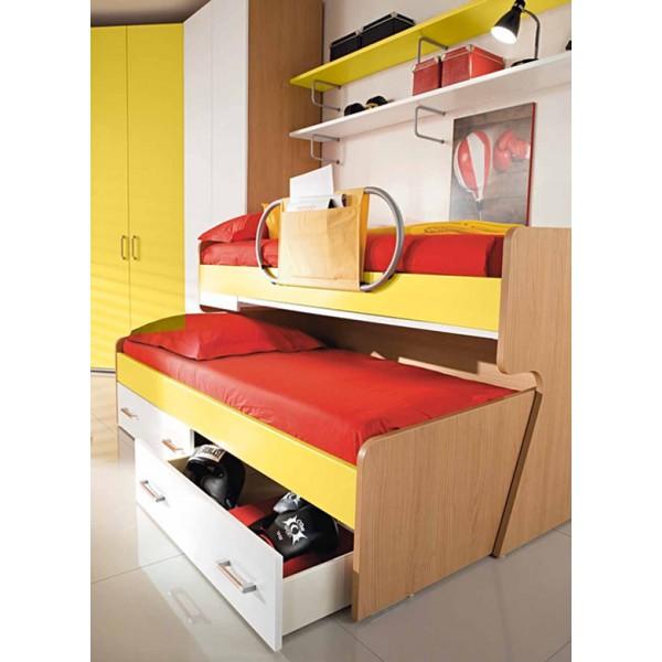 Dječja soba Colombini Volo V309 - krevet