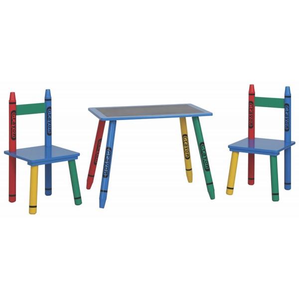 Dječji stol i stolice CRAYON