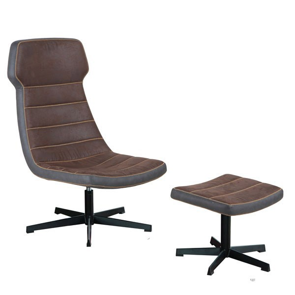 Fotelja ADAM - smeđa