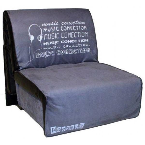 Multifunkcijska fotelja Elegant s ležištem - Motiv: Music