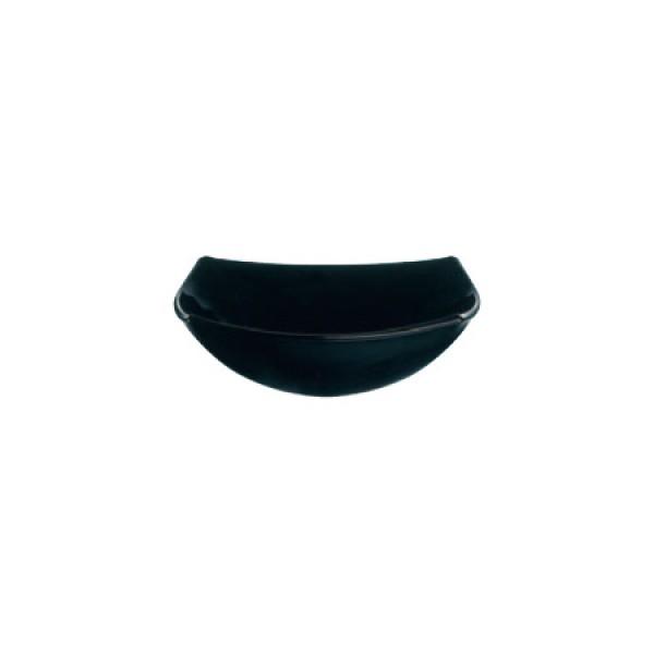 Zdjelica Quadrato Crni: 14 cm
