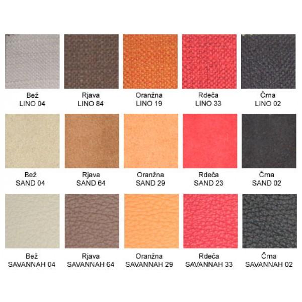 Enosed Matteo - barve in materiali