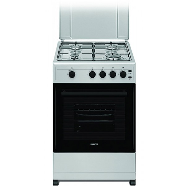 Komplet kuhinja Azur Line- larice grey, 250/260 cm - Štednjak Simfer F 3401 SGRIG