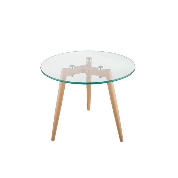 Staklen stolić Glass