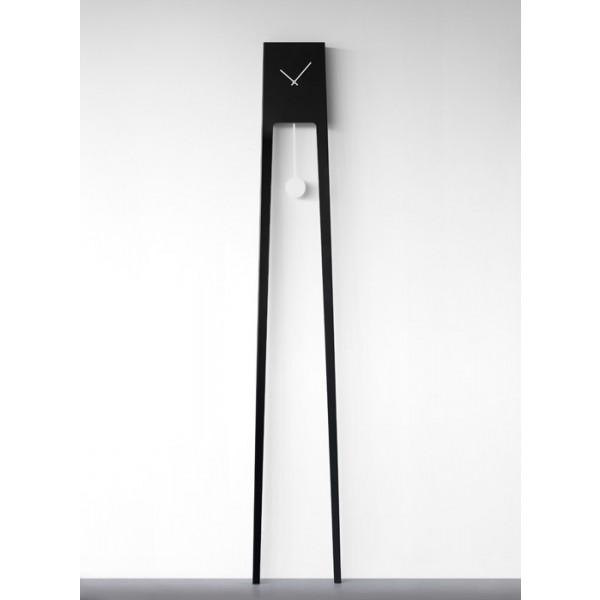 Zidni sat Tiuku - crna