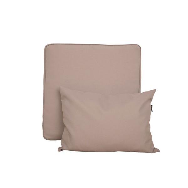 Vrtni namještaj TAHITI-krevet - više boja-Smeđa-Svjetlo siva