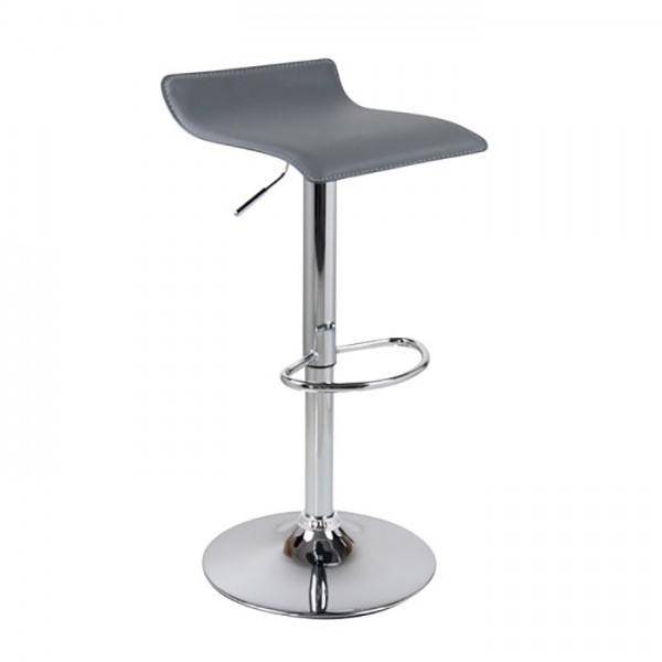Barski stol WAVE (siva)