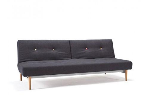 Kauč FIFTYNINE SOFA BED s svjetlo stileto drvenim nogicama