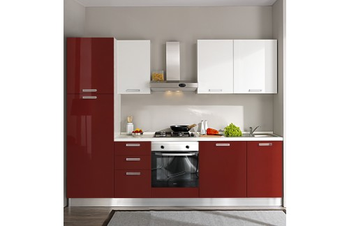 Komplet kuhinja s apratima 2114S - 270 cm