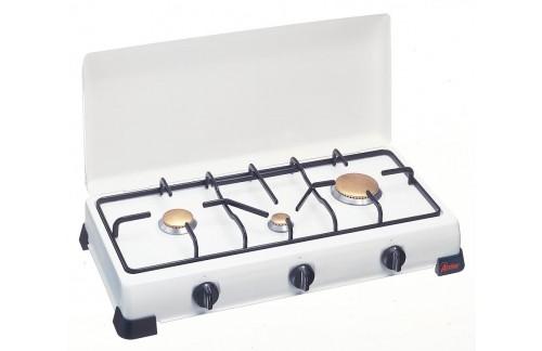 Stolno kuhalo Gorenc, tri plamenika, emajlirano