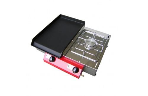 Plinski roštilj CAMPING 51K, FE ploča s plamenikom