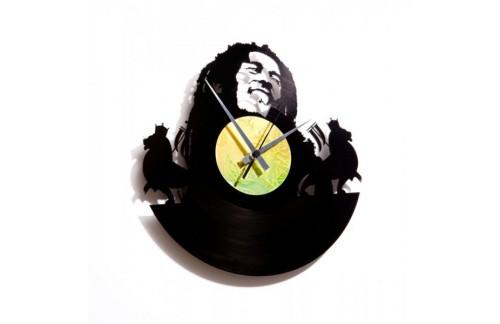 Zidni sat Disc'o'clock Bob