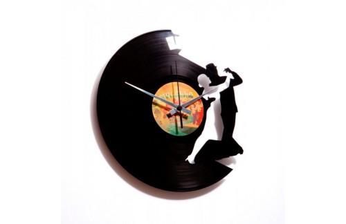 Zidni sat Disc'o'clock Tango