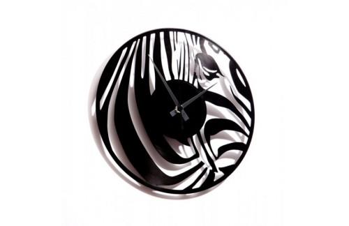 Zidni sat Disc'o'clock Zebra