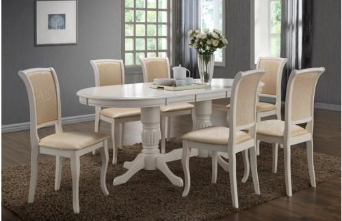 Produžni stol Anjelica-Bijela