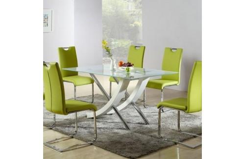 Stakleni blagovaonski stol Zambia
