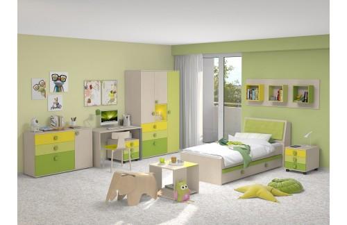 Dječja soba TRIO GREEN