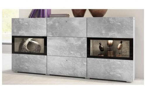 Komoda Baros (svijetli beton)