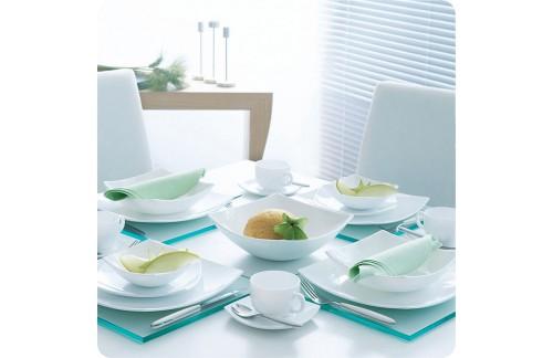 Servis za jelo Quadrato Bijeli (21)