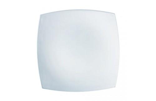 Plitki tanjuri Luminarc Quadrato Bijeli (6 kom)