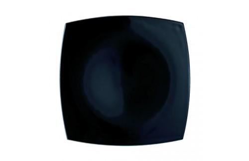 Plitki tanjuri Luminarc Quadrato Crni (6 kom)