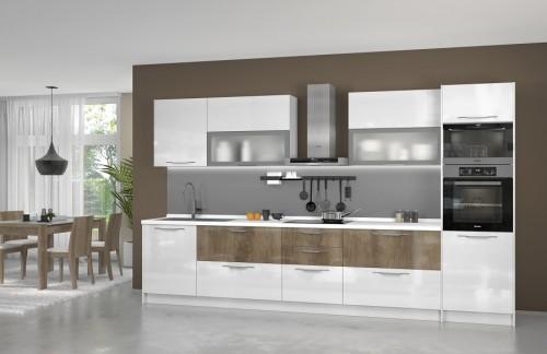 Kuhinja LIRA 360 cm - više boja (MOŽE I PO MJERI)