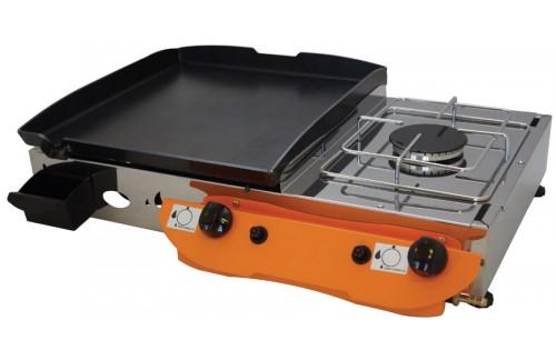 Plinski roštilj Gorenc Lotus 65K, Fe ploča