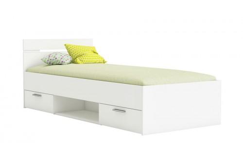 Krevet MICHIGAN 90×200 - bijela